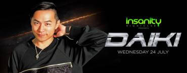 Insanity presents Japan nights with DJ DAIKI