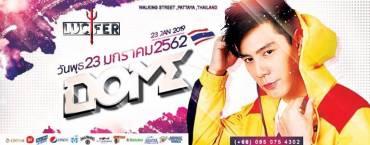 DOME Live at Lucifer Club Pattaya