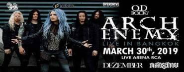 Arch Enemy Live at Live Arena Bangkok