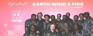 Earth Wind & Fire Experience feat Al McKay at Cafe del Mar