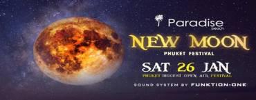 New Moon Festival at Paradise Beach Club Phuket