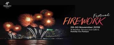 Firework Festival 2019 at Holiday Inn Pattaya
