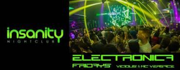 Friday Night at Insanity Disco Club Bangkok