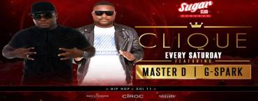 Sugar Bangkok Presents: Clique with Master D & G-Spark