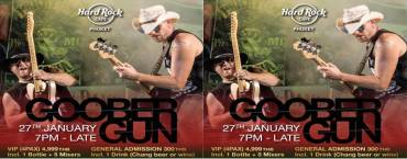 Goober Gun Concert at Hard Rock Cafe Phuket