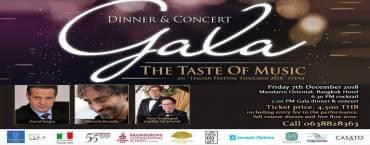 """The Taste Of Music an """"Italian Festival Thailand 2018"""""""