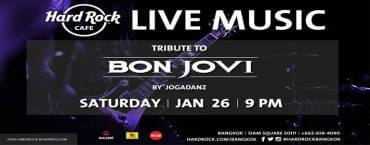 Tribute to Bon Jovi at Hard Rock Cafe Bangkok
