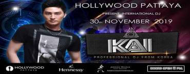 Hollywood Pattaya Present Dj Kai