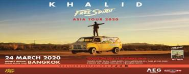 Khalid Free Spirit World Tour Live in Bangkok 2020