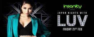 Japan Nights with DJ Luv at Insanity