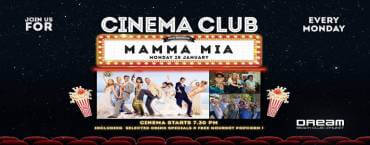 Dream Beach Cinema Club Presents MAMMA MIA
