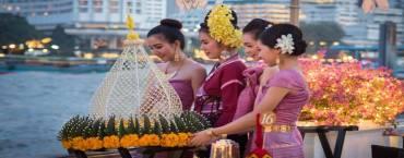 Loy Krathong at Mandarin Oriental Bkk
