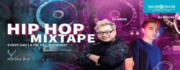 Hip Hop Mixtape at Sky Bar