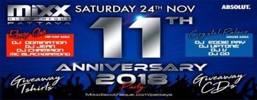 MIXX Pattaya 11th Anniversary Party