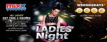 "Mixx Discotheque presents ""Ladies Night"""