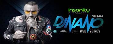 Dj Nano at Insanity Disco Club Bangkok