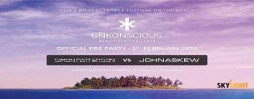 UnKonscious Pre-Party Simon Patterson b2b John Askew