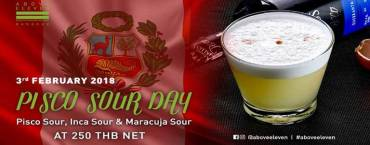 Pisco Sour Day Hosted by Above Eleven Bangkok