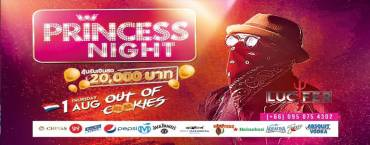 Princess Night w/ OUT OF COOKIES at Lucifer Club Pattaya