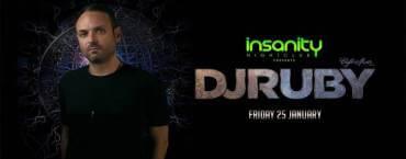 DJ Ruby at Insanity Nightclub
