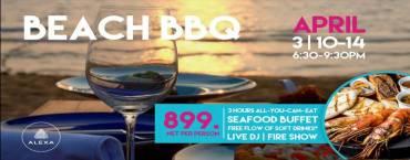 BEACH BBQ | Seafood Buffet at Alexa Beach Club