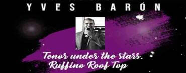 BBQ Seafood Buffet with Live Music from Yves Baron Tenor