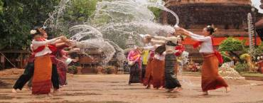 Songkran Celebrations in Chiang Rai