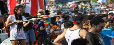 Songkran Celebrations in Chiang Mai
