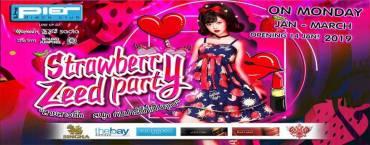 Strawberry Zeed Party at Pier Pattaya