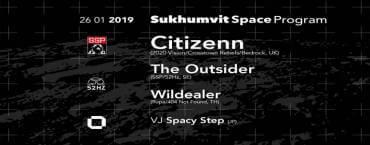 Sukhumvit Space Program feat. Citizenn at GLOW