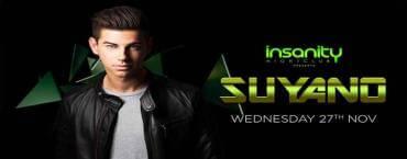 Suyano at Insanity Nightclub