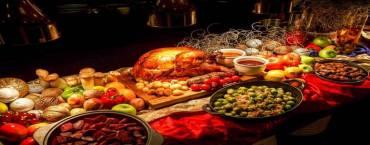 Twenty Seven Bites Thanksgiving Buffet