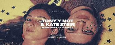 Tony Y Not & Kate Stein at Sing Sing Theater