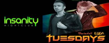 Tuesday Night at Insanity Disco Club Bangkok