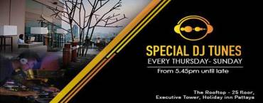 Specials DJ Tunes at Holiday Inn Pattaya