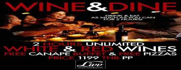 WINE & DINE Unlimited at Livv