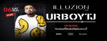 UrboyTJ Live On Stage at Illuzion Phuket