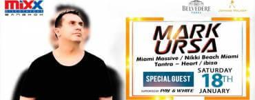 Mark Ursa Live at MiXX Bangkok