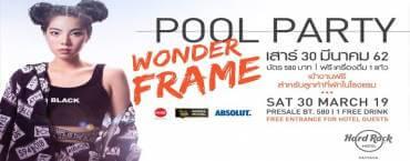 Pool Party X WonderFrame