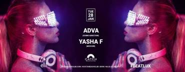 Yasha F b2b Adva at Catch Beach Club
