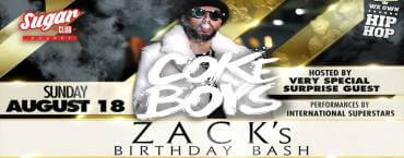 Coke Boys x Sugar Club: Zack's Birthday Bash