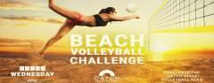BEACH VOLLEYBALL CHALLENGE at Catch Beach Club