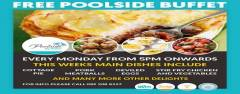 Monday FREE Buffet at Poolside by TaiPan