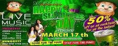 St Particks Day at Two Chefs Bar & Grill